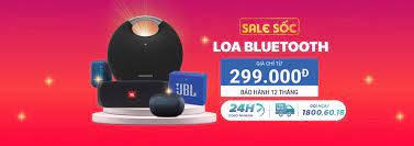 Khuyến mãi loa bluetooth chính hãng|Giá chỉ từ 390 ngàn tại Di Động Việt .  Hàng chính hãng, giá rẻ, bảo hành 1 đổi 1.