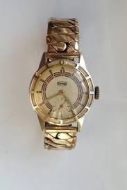 gold watch and bracelet set men s shop stoneberry on credit mens vintage newmark crescent gold tone 5 jewels watch