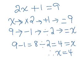 solving equations using flowcharts solving equations algebra showme