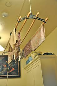 Fresh Clothes Drying Rack Hanging From Ceiling 63 About Remodel Ceiling  Fans With Clothes Drying Rack