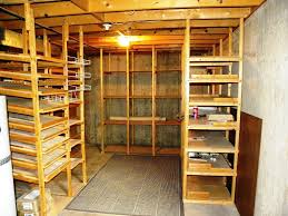 basement storage shelves ideas home decorations the way to build