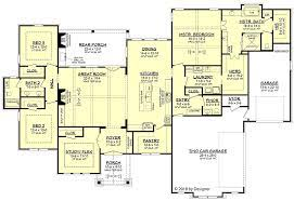 house plan 51982 tuscan style with