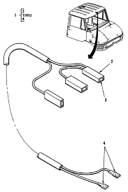 Hull or chassis wiring harness dome light cable assembly