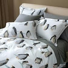 queen sheets bedding sets comforter set duvet penguin flat original flynn penguin bedding sets