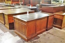 Used Desk credenza