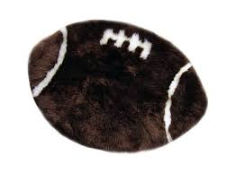 football rug sheepskin fur rug