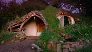 Fed up with high mortgage prices in the countryside, a man decided to build  his very own eco-friendly hobbit house in a woodland.