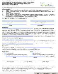 What Is A Lease Agreement Free Florida Residential Lease Agreement Template PDF Word 8