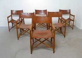 safari style furniture. midcentury danish folding safari style chairs set of 6 furniture i