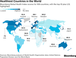 Bloomberg Organizational Chart Healthy Nation Rankings These Are The Healthiest Countries
