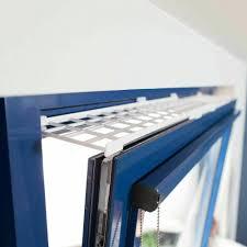 Kippfenster Schutzgitter Set Kunstoff 3 Tlg Ausziehbar Weiß