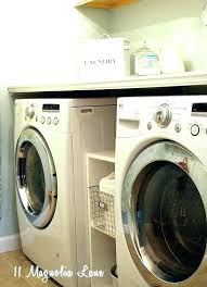 washer dryer counter dryer shelf counter over washer and dryer folding shelf table laundry room counter washer dryer counter cabinets over