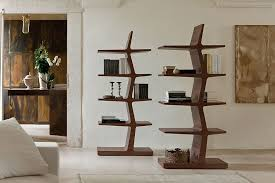 view in gallery sculptural and trendy design of zeus bookshelves