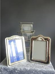 silver plated photo carousel and two photo frames with a stand france 2nd half