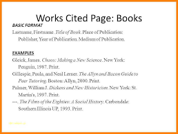 10 11 Works Cited Page Mla Example Durrancesports Com