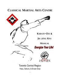 karate do manual pdf