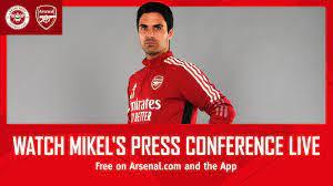press conference LIVE on Arsenal.com ...