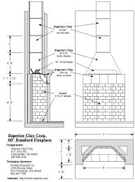 outdoor fireplace blueprints