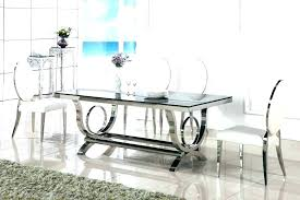 large round glass dining table large glass dining table round glass dining table for 8 dining