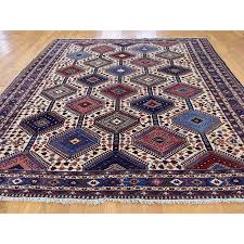 8 x10 9 hand knotted persian yalameh tribal design pure wool oriental rug