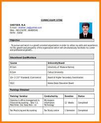 11 Fresher Resume Format For Accountant Trinity Training