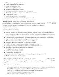 Help Desk Technician Resume Help Desk Resume Examples Desktop Support Technician Resume Sample