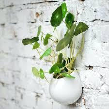 wall planter indoor 4 super white ceramic wall hanging ceramic succulent ceramic home decor desk ceramic