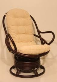 swivel and rocking chairs. Java Swivel Rocking Chair Colonial With Cushion Handmade Natural Wicker Rattan Furniture And Chairs