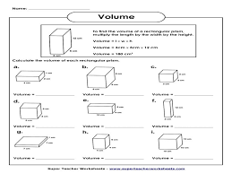 Volume-of-rectangular-prism-worksheet & Volume Triangular Prism ...