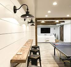 unfinished basement ideas. Tags: Unfinished Basement Ideas, Lighting,  Ceiling, Gym, Laundry Room, Ideas