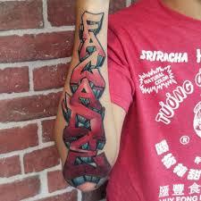 top funky graffiti tattoo designs ideas