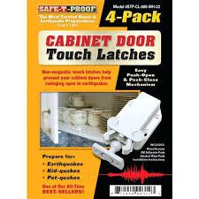 magnetic cabinet door latch cabinet door 4 pack white magnetic cabinet door latch
