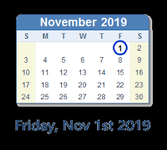 November November Calendar November 1 2019 Date In History News Top Tweets Social