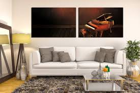 2 piece canvas photography grand piano wall decor musical on grand piano wall art with 2 piece canvas photography grand piano wall decor musical home