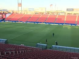 Toyota Stadium Football Seating Chart Toyota Stadium Section 108 Fc Dallas Rateyourseats Com