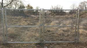 chain link fence rolling gate parts. Chain Link Double Swing Gate Fence Panels Or Rolling Parts