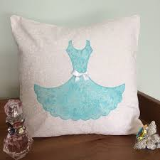 Dress Cushion kit, Make your own dress cushion cover, DIY cushion kit, Dress