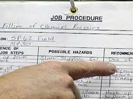 job safety analysis template job hazard analysis environmental health safety
