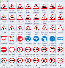 Road Signs Chart Www Bedowntowndaytona Com