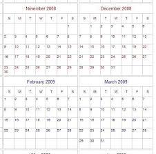 year calender school year calendar templates