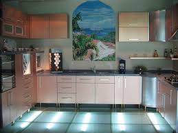 Kitchen Floor Lights Beautiful Lighting Kitchen Decorating Ideas In Floor As Well Elegant Backsplash And Cabinet Storage Along With English Kitchen Jpg