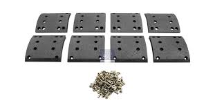 Dt 4 91131 Drum Brake Lining Kit Axle Kit Suitable For Man