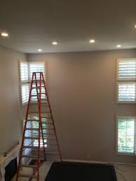 recessed lighting high ceiling install carmel valley