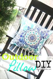 diy outdoor pillow any size any style chaotically creative diy outdoor cushions diy outdoor chair cushions