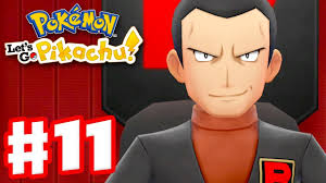 Pokemon Let's Go Pikachu and Eevee - Gameplay Walkthrough Part 11 - Team  Rocket Hideout! - YouTube