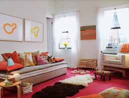 red living room rugs layering rugs over a red carpet brings your eye up to the