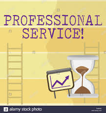 Growth Chart Training Writing Note Showing Professional Service Business Concept