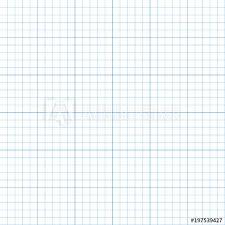 Graph Paper Plotting Grid Vector Illustration Buy This Stock