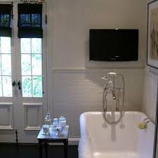 tv in bathroom. tv in bathroom tv