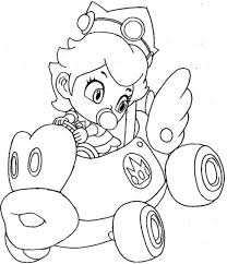 Small Picture Mario Kart Coloring Pages 29225 Bestofcoloringcom